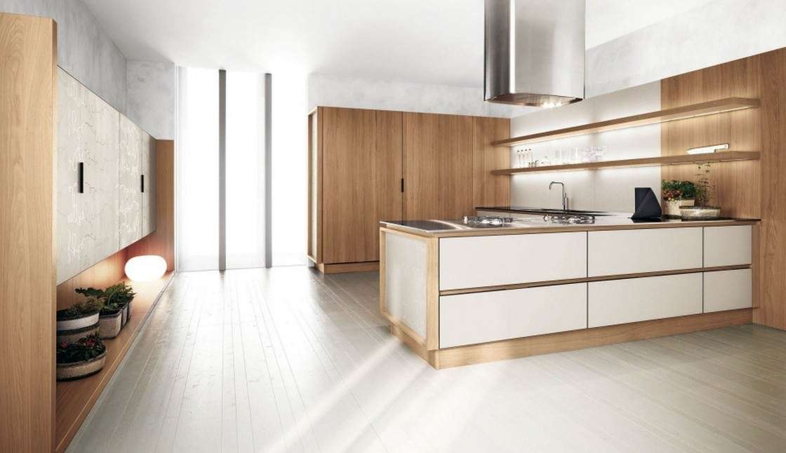Cucine Rovere Sbiancato Moderne. Cucina With Cucine Rovere ...
