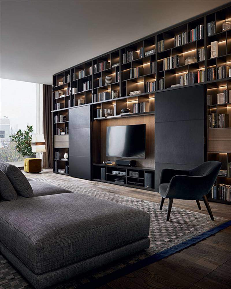 soggiorno moderno 100 idee per il salotto perfetto. Black Bedroom Furniture Sets. Home Design Ideas