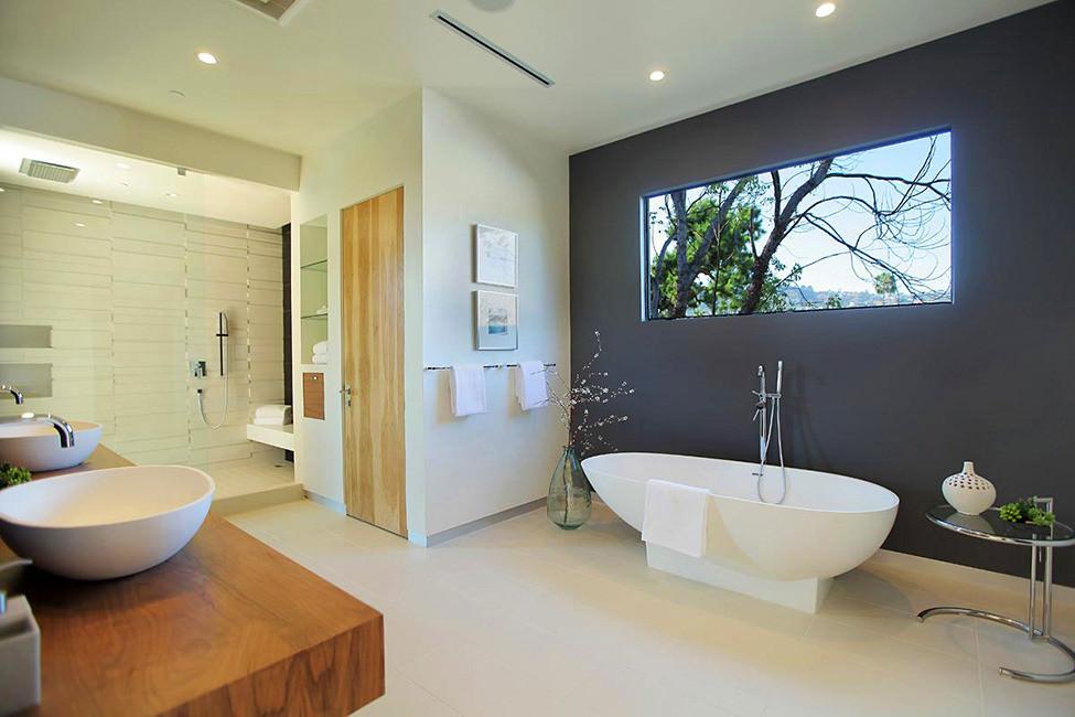 Riempire La Vasca Da Bagno In Inglese : 100 idee bagni moderni da sogno u2022 colori idee piastrelle bagno