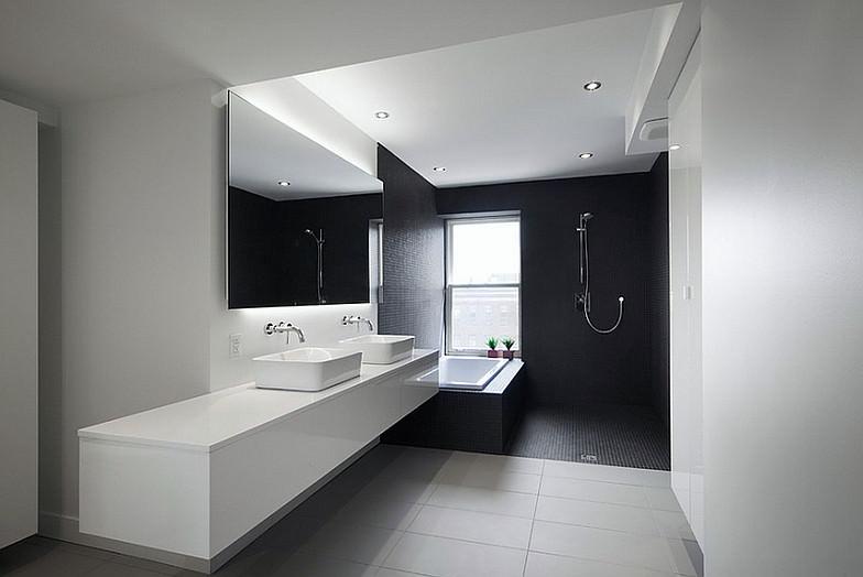 Bagno Moderno Bianco E Nero.100 Idee Bagni Moderni Da Sogno Colori Idee Piastrelle Bagno