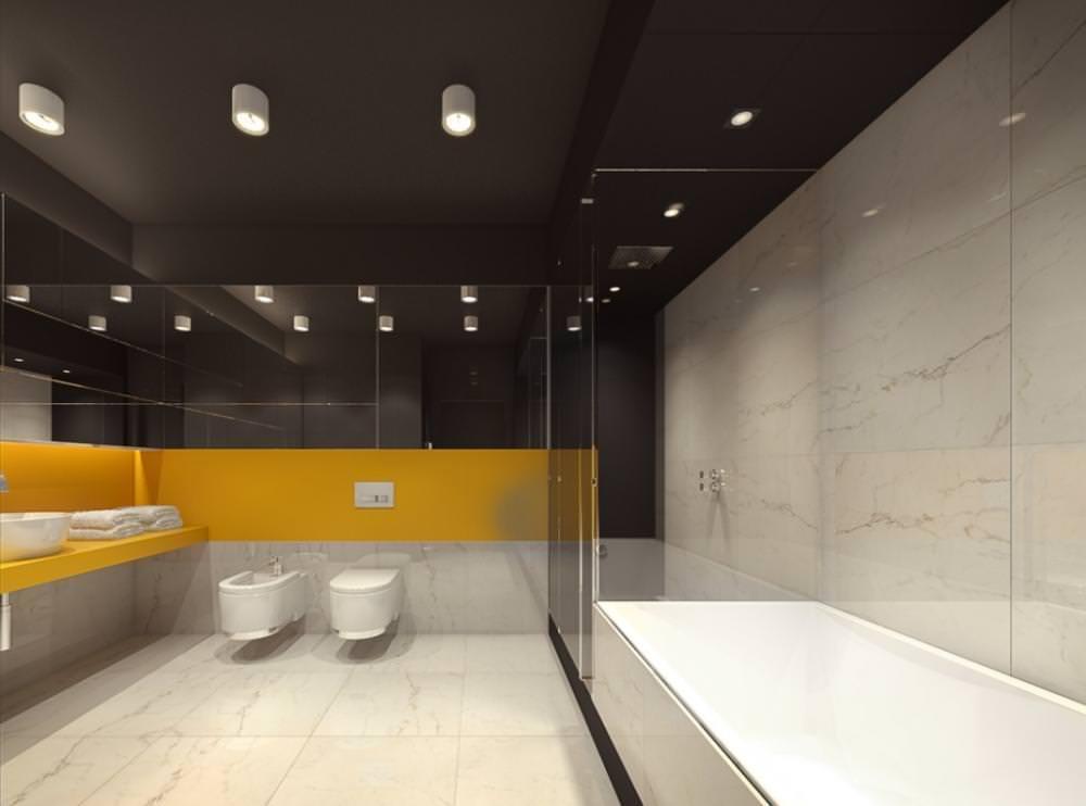 100 idee bagni moderni da sogno colori idee piastrelle for Colori mobili moderni
