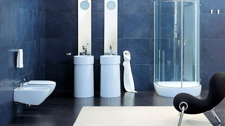 40 Idee Per Un Bagno Blu E Bianco • Design E Abbinamento