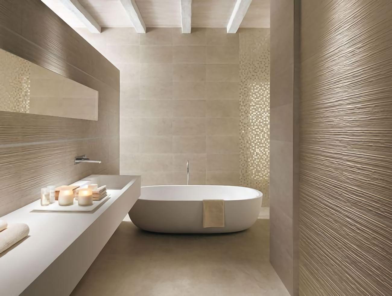 Bagno con pavimenti e rivestimenti in mosaico u2022 100 idee bagni