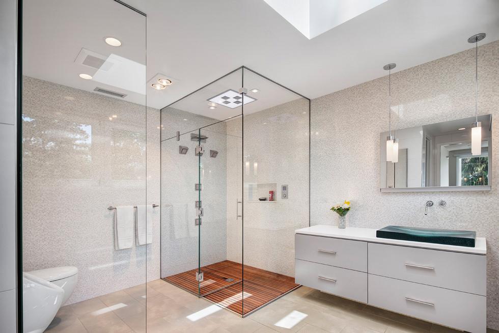 Bagno Mattonelle Mosaico : Bagno con pavimenti e rivestimenti in mosaico u idee bagni
