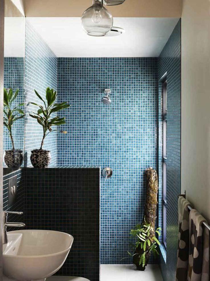 Bagno Piccolo Mosaico.Bagno Con Pavimenti E Rivestimenti In Mosaico 100 Idee