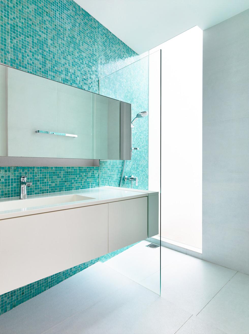Bagni In Mosaico Moderni.Bagno Con Pavimenti E Rivestimenti In Mosaico 100 Idee