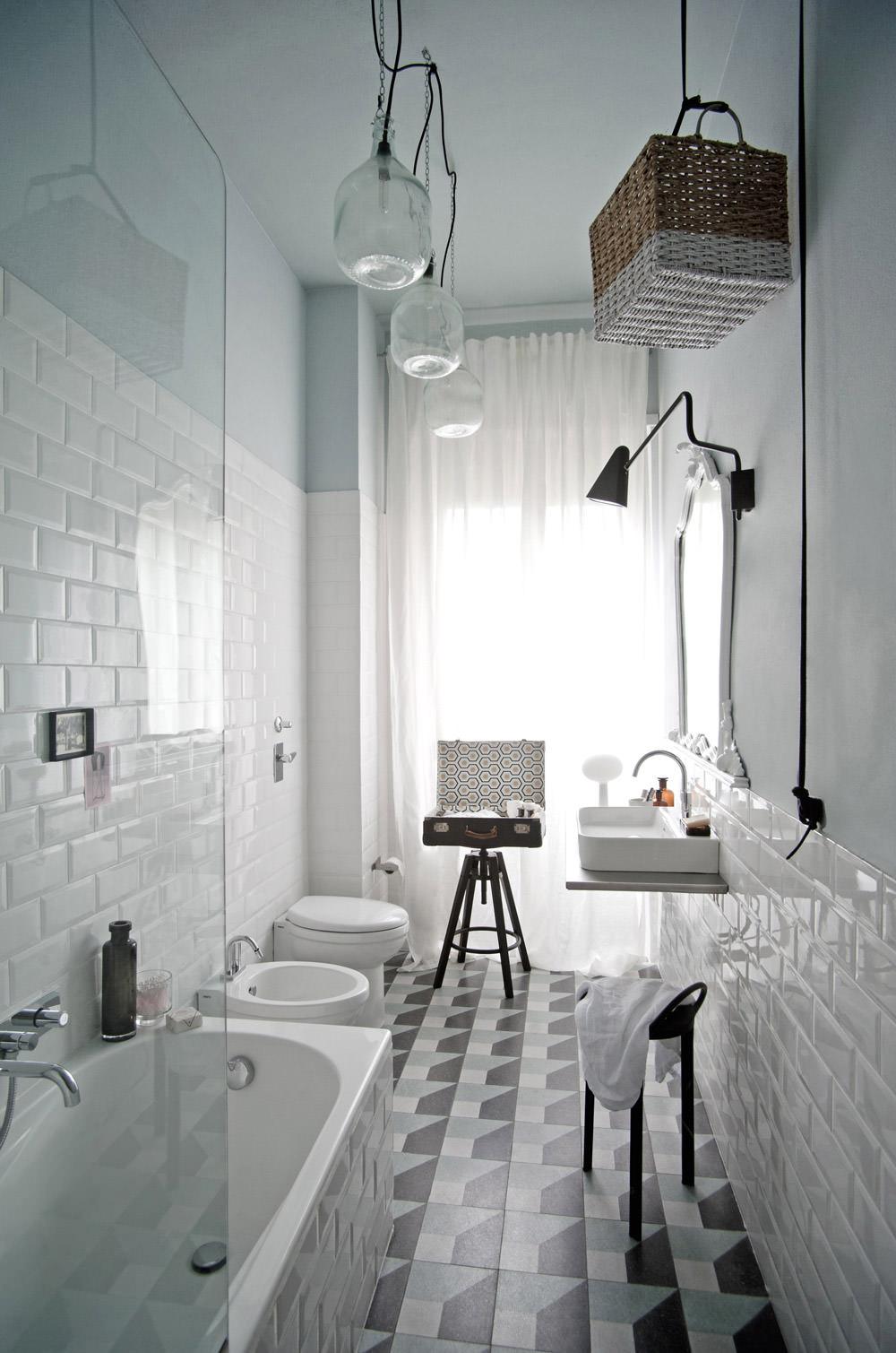 ristrutturare un bagno stretto e lungo 50 idee e