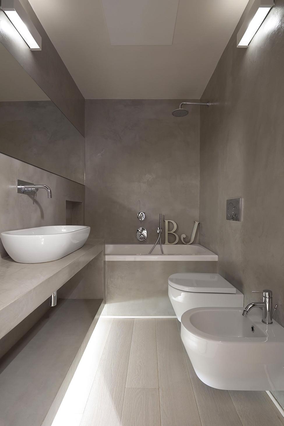 Resina Pareti Bagno Costi ristrutturare un bagno stretto e lungo • 50 idee e soluzioni