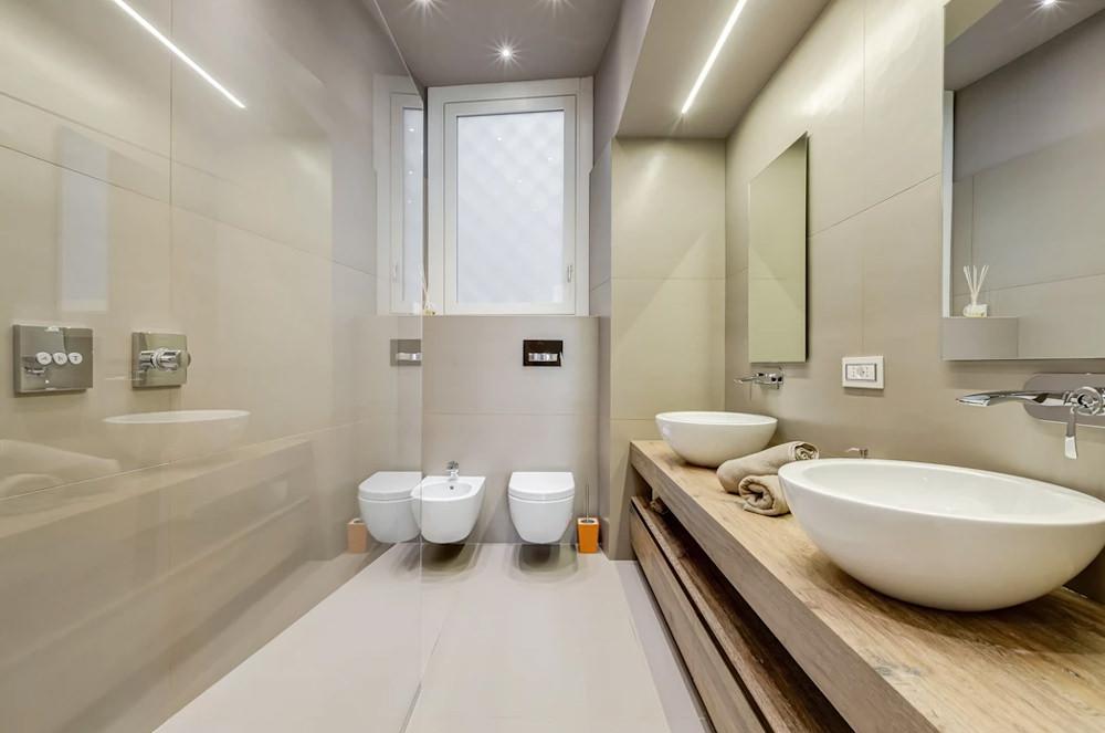 Bagno Stretto E Lungo Arredamento : Ristrutturare un bagno stretto e lungo u2022 50 idee e soluzioni per