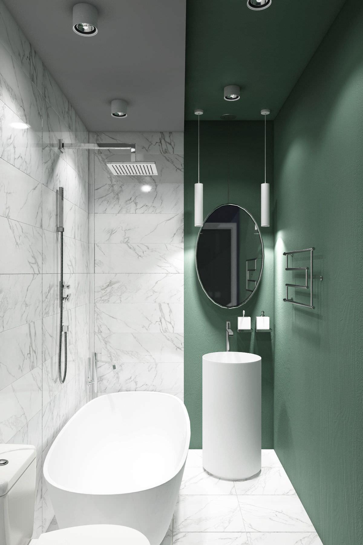 Ricoprire Vasca Da Bagno Prezzi ristrutturare un bagno stretto e lungo • 50 idee e soluzioni