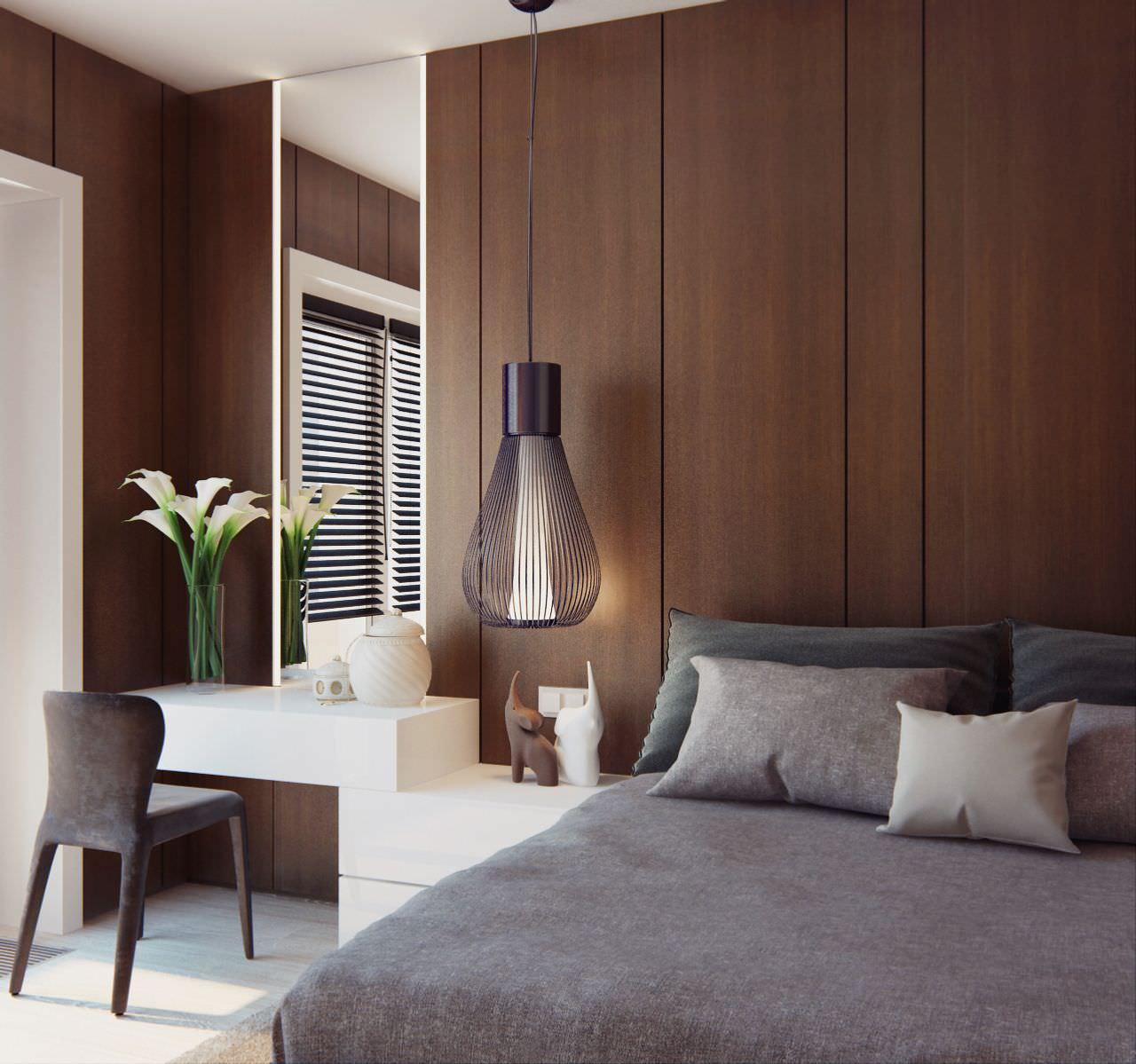 Armadio A Muro Design 100 idee camere da letto moderne • colori, illuminazione