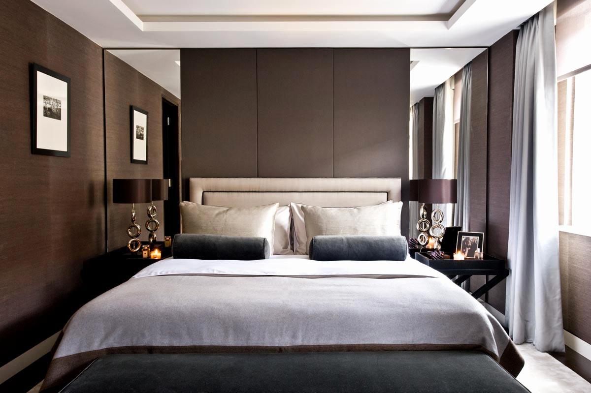 100 idee camere da letto moderne colori illuminazione for Esempi di arredamento