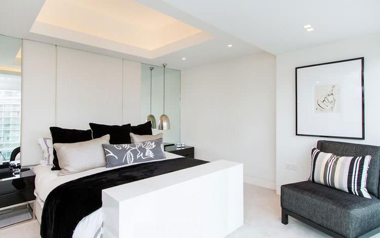 Camere Da Letto Moderne Bianche E Nere.100 Idee Camere Da Letto Moderne Colori Illuminazione Arredo