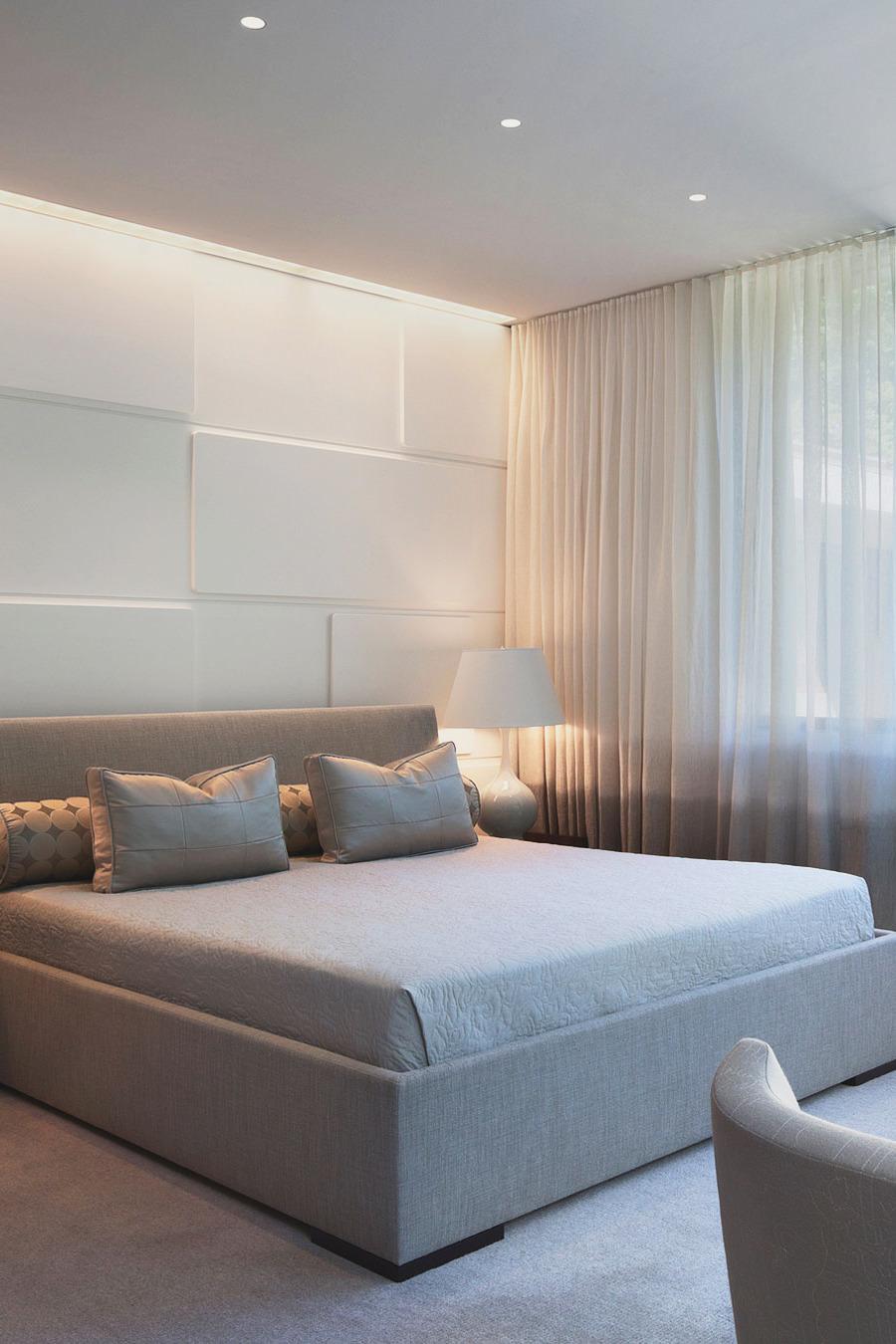 100 idee camere da letto moderne colori illuminazione for Stanza da pranzo moderna