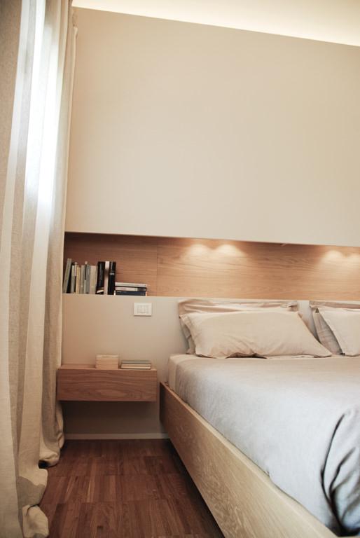 100 idee camere da letto moderne colori illuminazione for Camera da letto luci