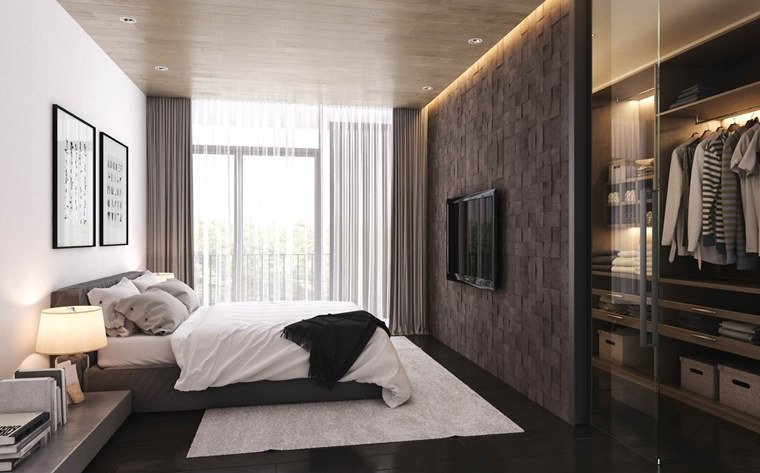 Arredamento Camera Da Letto Marrone : 100 idee camere da letto moderne u2022 colori illuminazione arredo