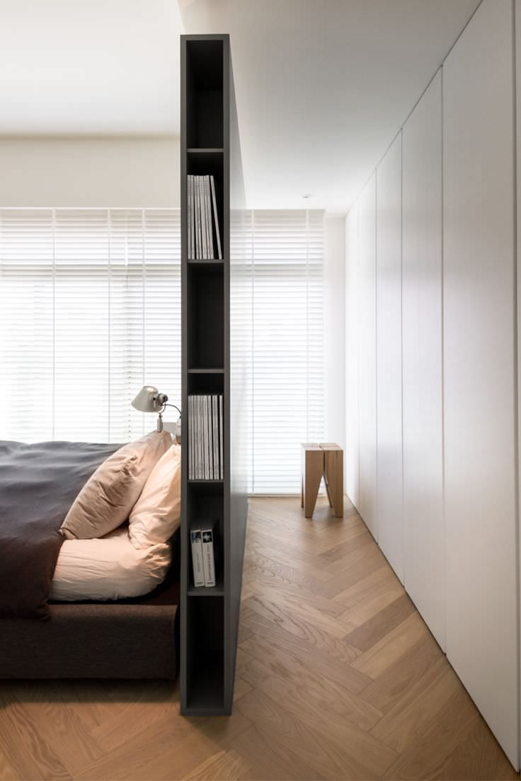 Libreria Design Camera Da Letto 100 idee camere da letto moderne • colori, illuminazione