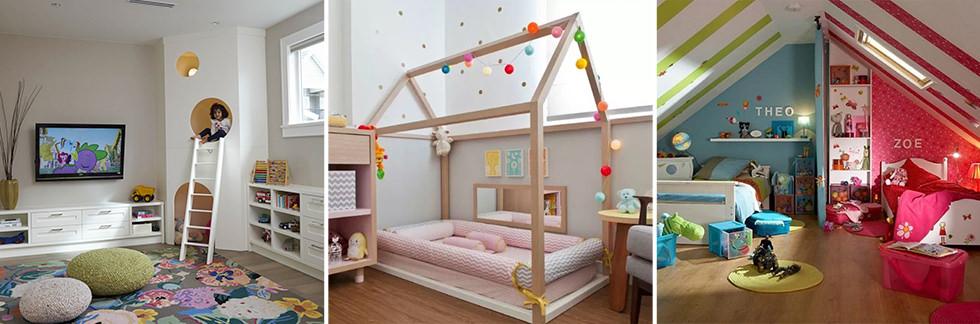 Cameretta dei bambini 70 idee moderne e originali per for Arredare la camera dei ragazzi