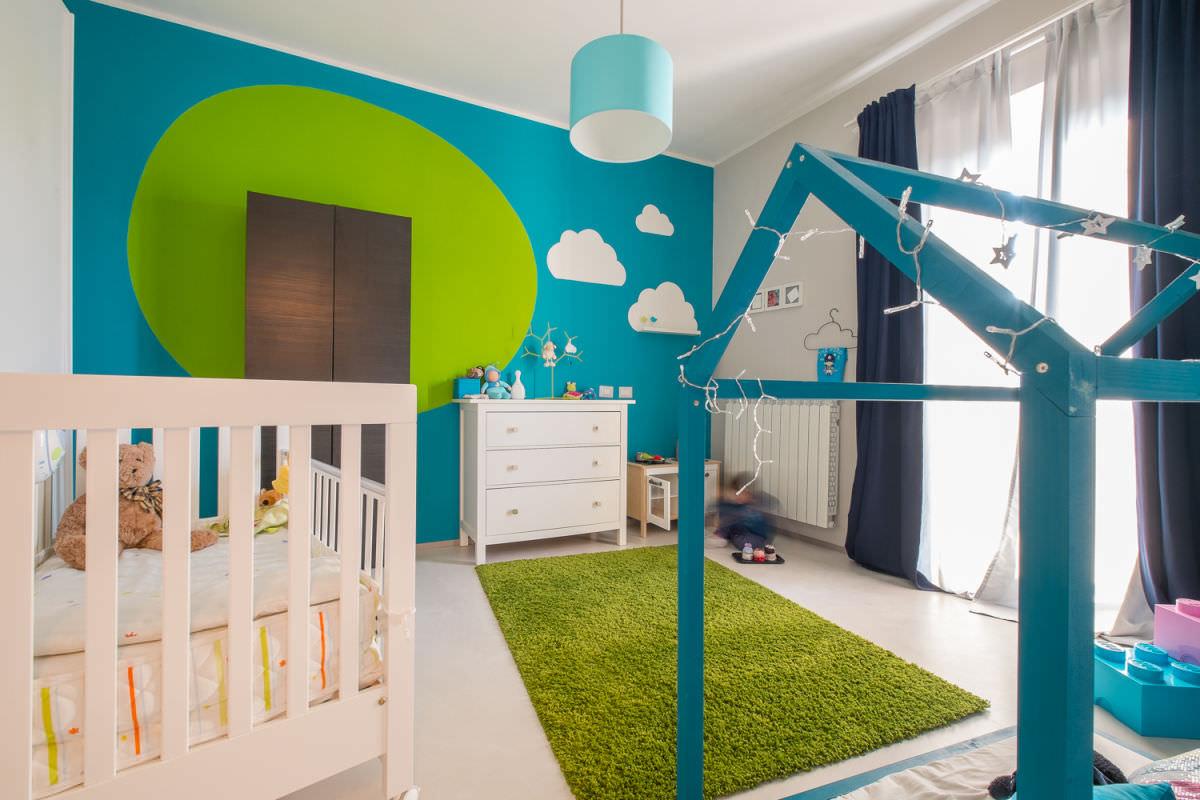 Colori Cameretta Bebè : Cameretta dei bambini u idee moderne e originali per creare la