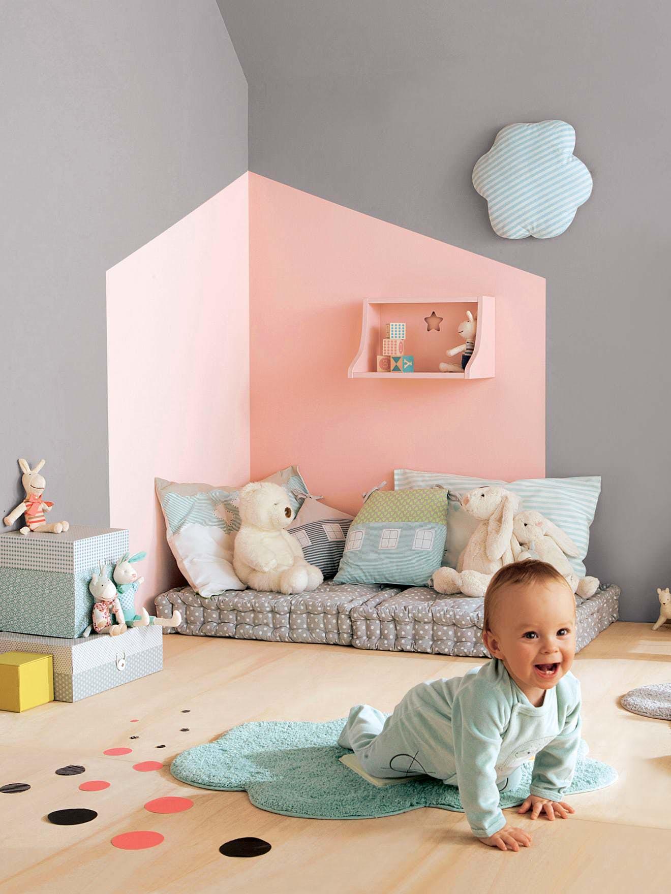 Muri Camerette Per Bambini cameretta dei bambini • 70 idee moderne e originali per