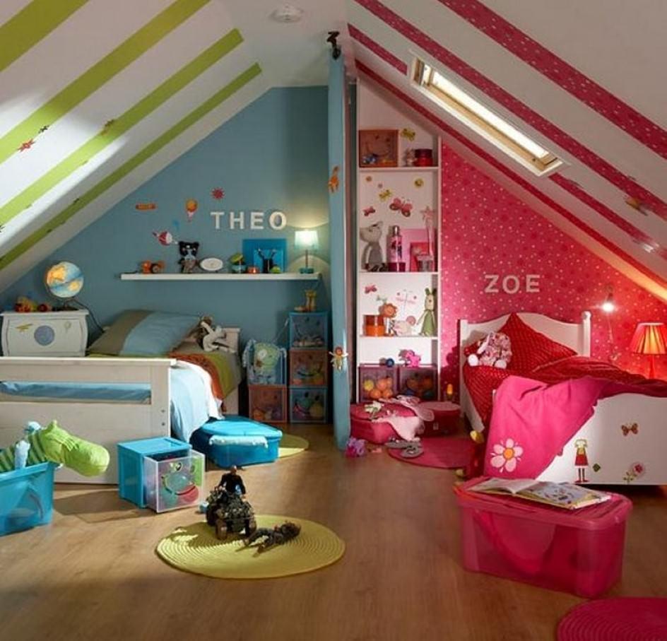 Idee Pittura Cameretta Bambina cameretta dei bambini • 70 idee moderne e originali per