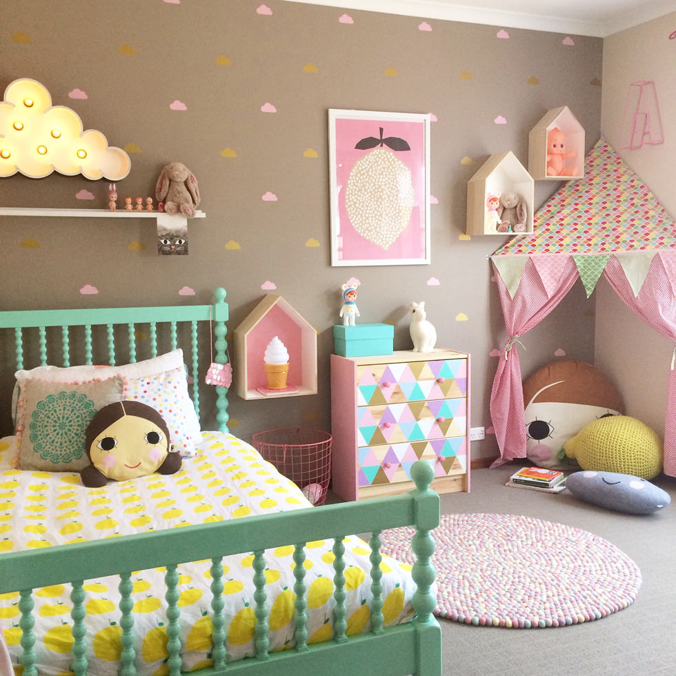 Colori Da Parete Per Camerette cameretta dei bambini • 70 idee moderne e originali per