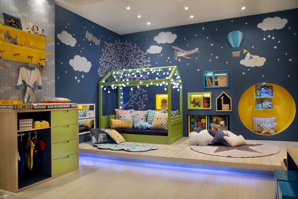 Illuminazione cameretta bambini u tra gioco e studio u idee per
