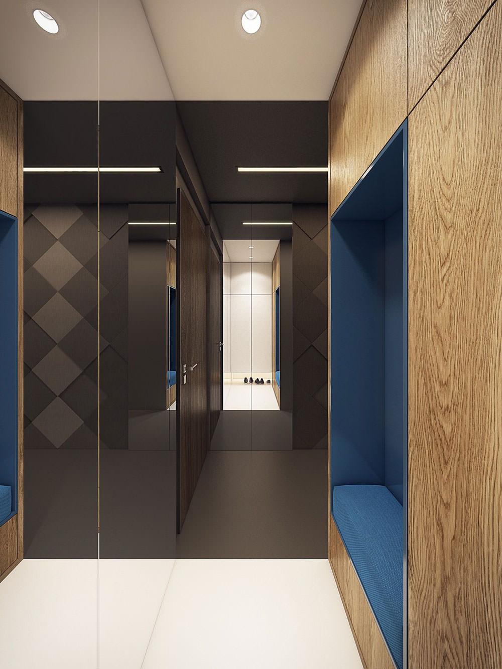 Architettura Case Moderne Idee stupendo appartamento moderno, elegante e drammatico
