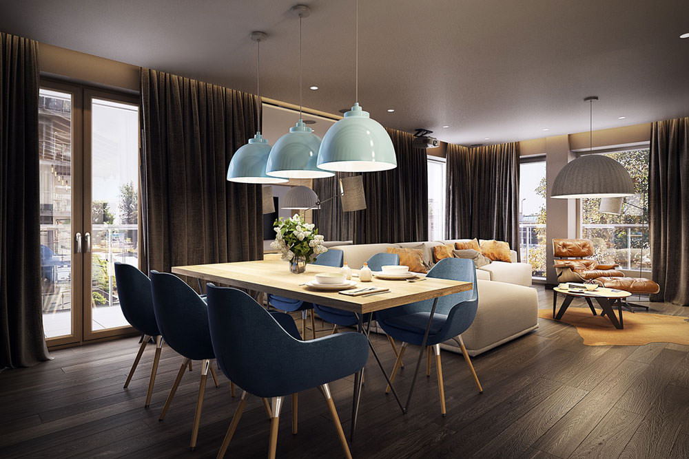 Stupendo Appartamento Moderno Elegante E Drammatico