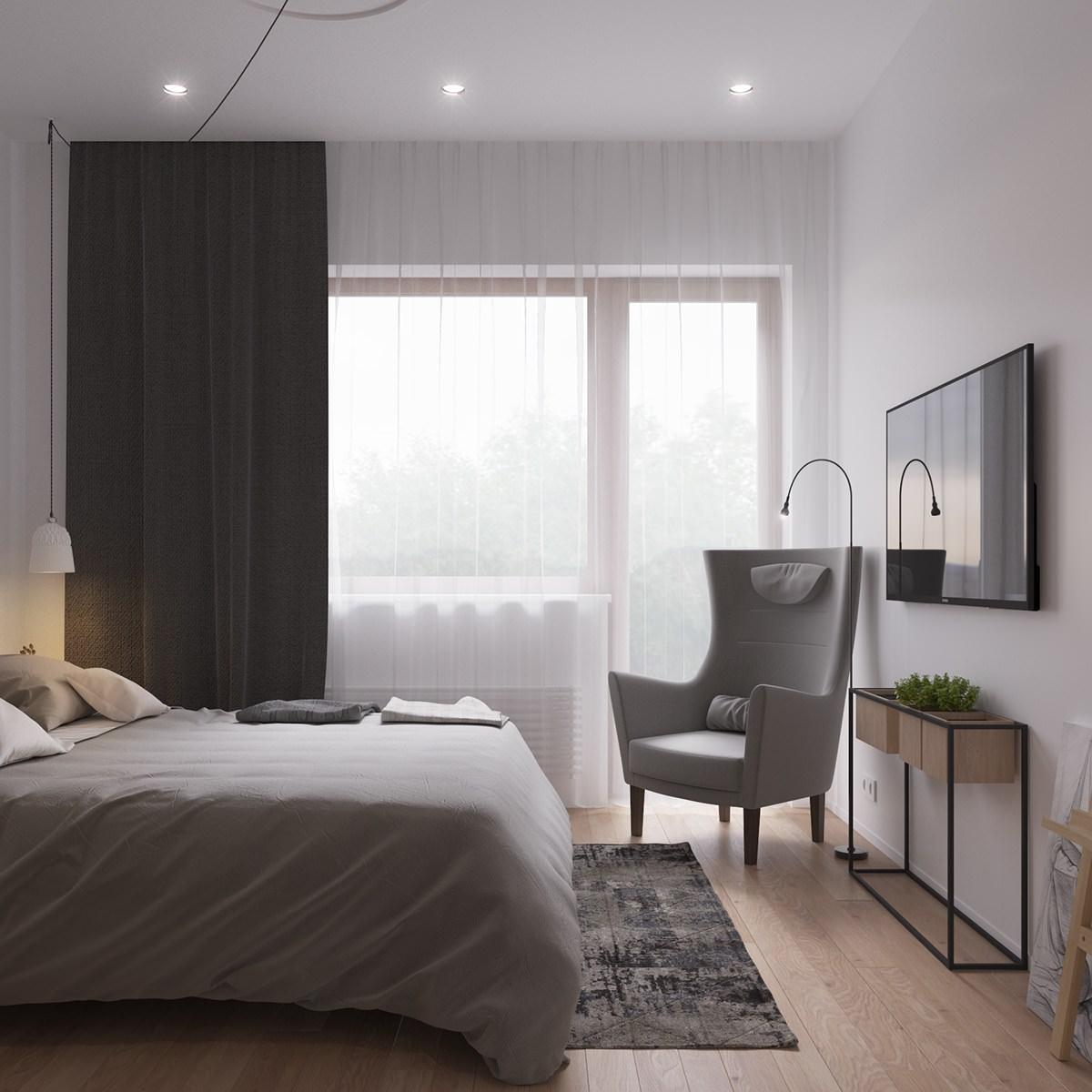Design Scandinavo Camera Da Letto.Originale Appartamento In Stile Scandinavo Moderno Ed Elegante