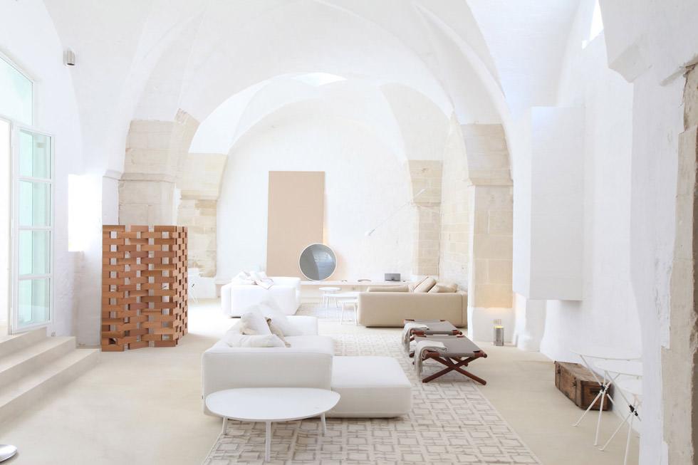 Soggiorno Idee Per Ristrutturare Casa Moderna.Ristrutturazione Di Un Antico Frantoio Che Diventa Moderna Casa