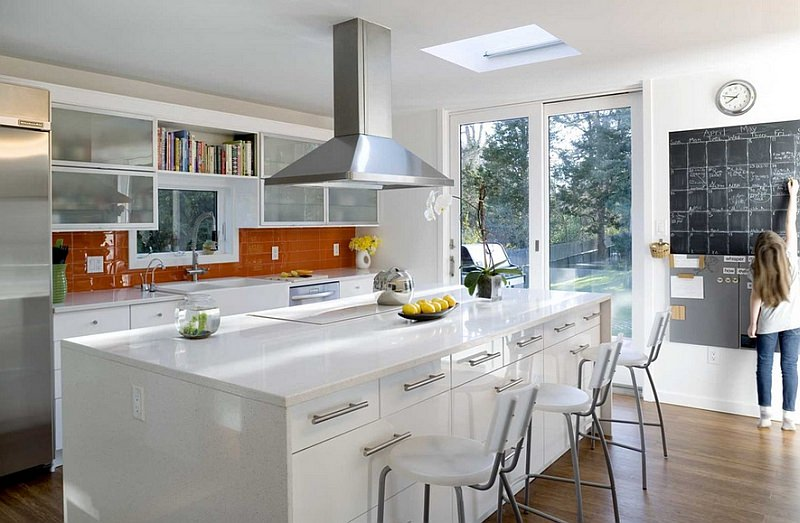 Colore paraschizzi cucina • 50 idee per una cucina moderna o ...