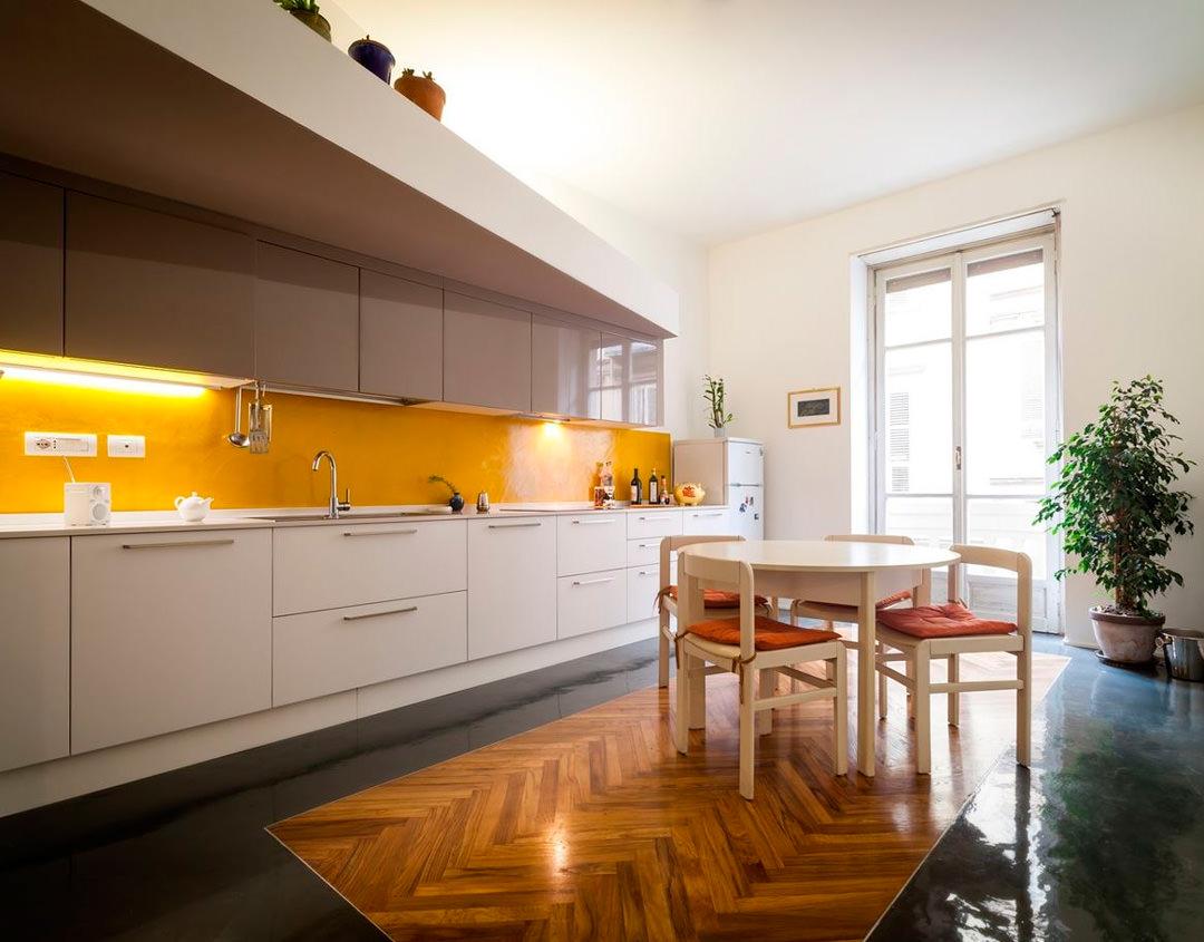 Colore paraschizzi cucina 50 idee per una cucina moderna for Colore pareti cucina bianca