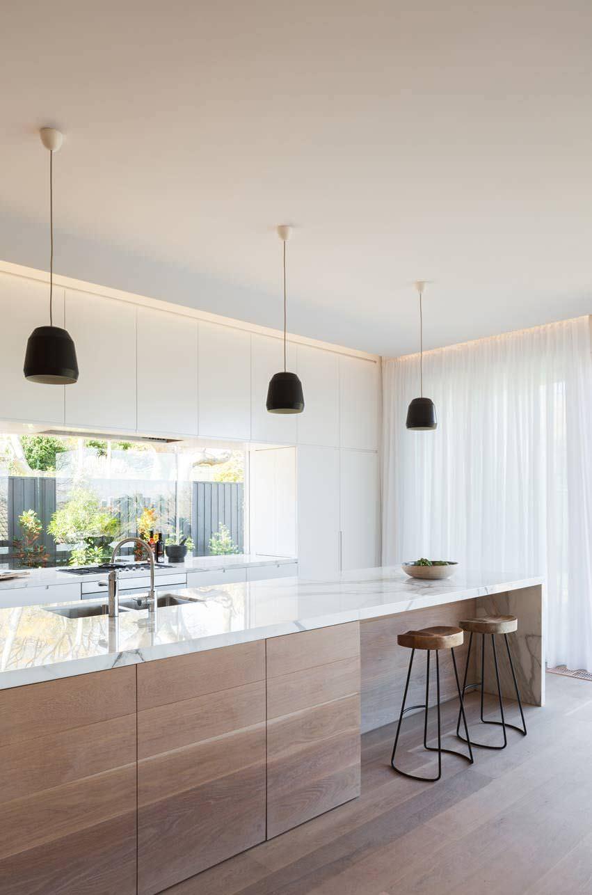 Illuminazione Piano Lavoro Cucina 100 idee cucine con isola • soluzioni moderne e funzionali