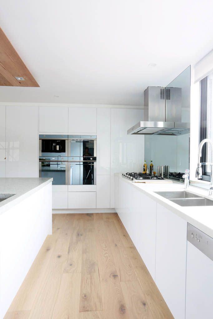 Cucine Moderne Bianche Laccate.100 Idee Cucine Moderne Da Sogno Con Isola Ad U Open
