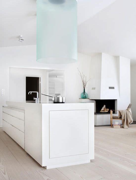 Immagini Cucine Moderne Bianche.100 Idee Cucine Moderne Da Sogno Con Isola Ad U Open Space