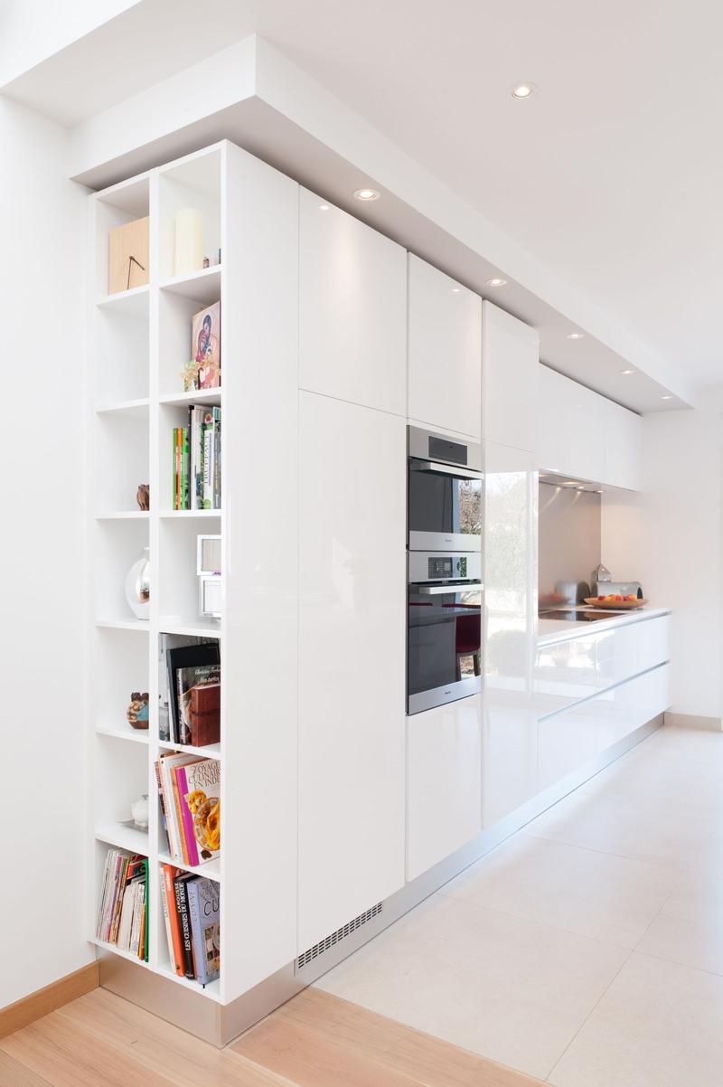 Libreria A Muro Moderna Ikea 100 idee cucine moderne da sogno • con isola, ad u, open