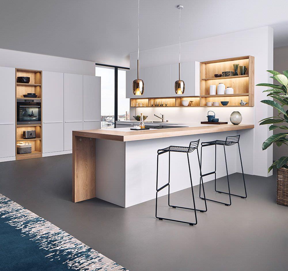 Tavolo Americano Cucina.100 Idee Cucine Moderne Da Sogno Con Isola Ad U Open