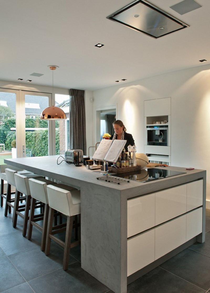Idee Cucine Moderne Con Isola.100 Idee Cucine Moderne Da Sogno Con Isola Ad U Open