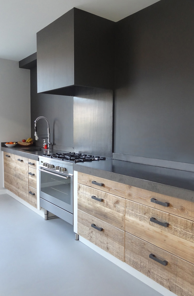 Cucina Moderna Con Piano Cottura Ad Angolo.Cucina In Muratura 70 Idee Per Cucine Moderne Rustiche