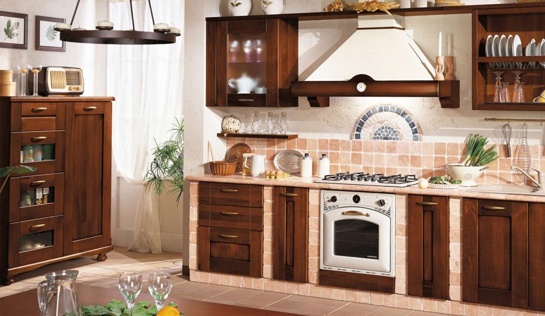 Cucine Piccole Rustiche : Cucina in muratura u idee per cucine moderne rustiche country