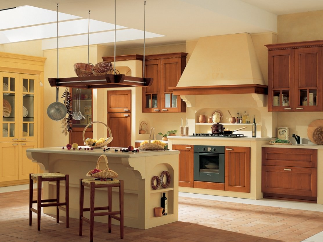 Facile It Cucine Usate.Cucina In Muratura 70 Idee Per Cucine Moderne Rustiche Country