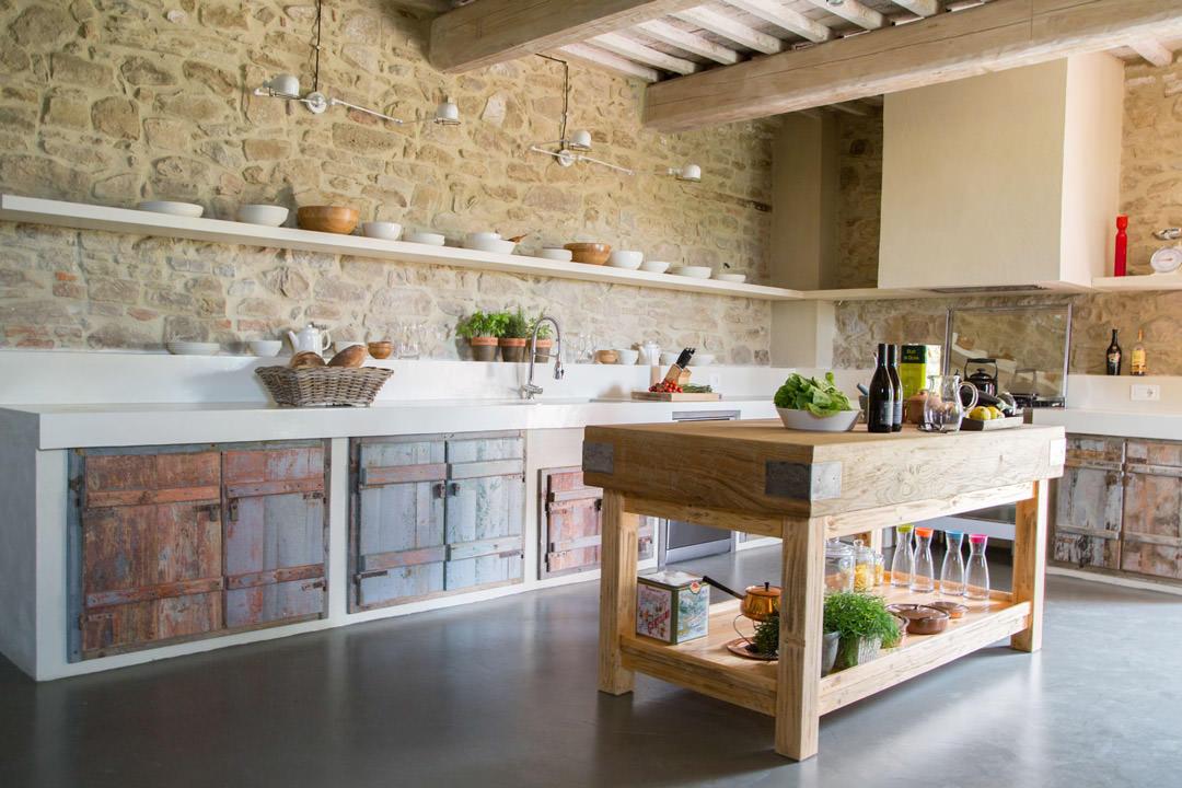 Angolo Cottura In Muratura : Cucina in muratura u idee per cucine moderne rustiche country