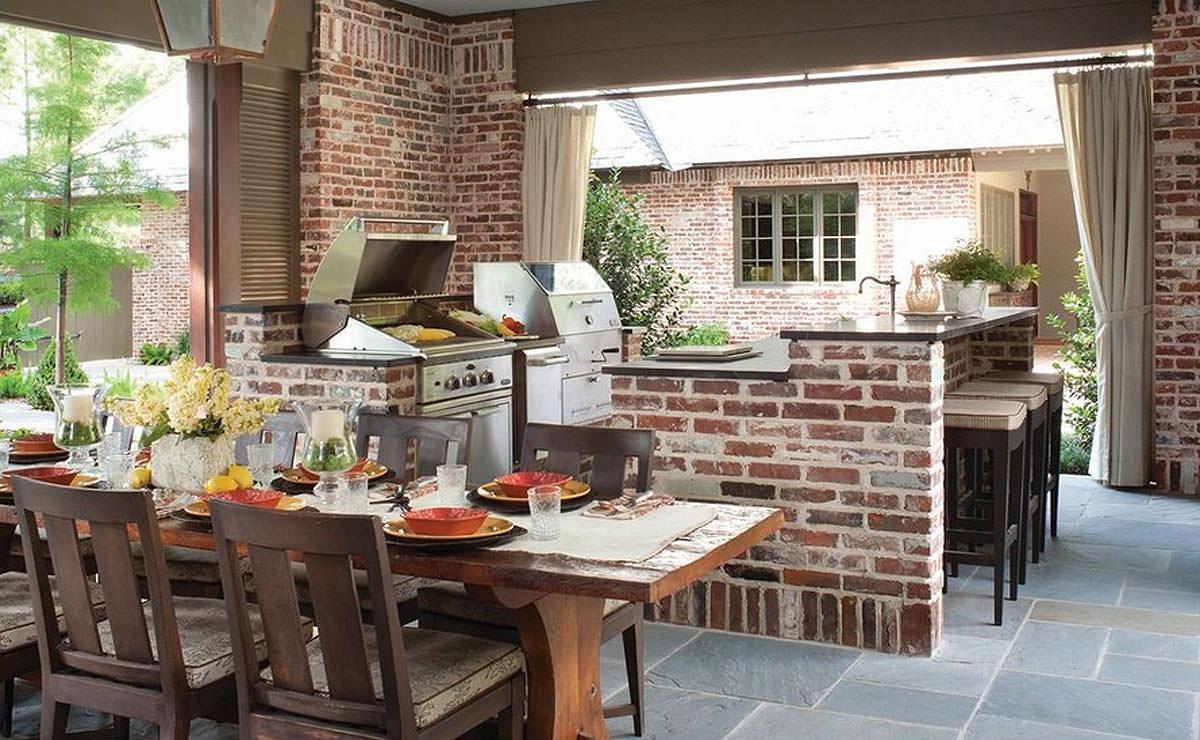 Come Decorare Una Cucina Rustica cucina in muratura • 70 idee per cucine moderne, rustiche