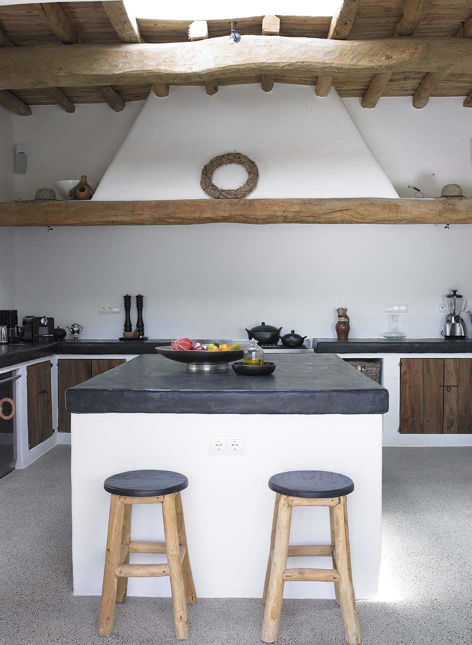 Colori Per Interni Casa Rustica cucina in muratura • 70 idee per cucine moderne, rustiche