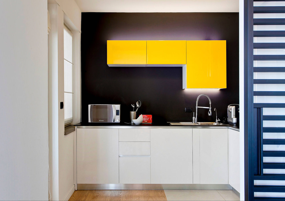 50 idee cucine piccole • Moderne, con isola, ad U, open ...