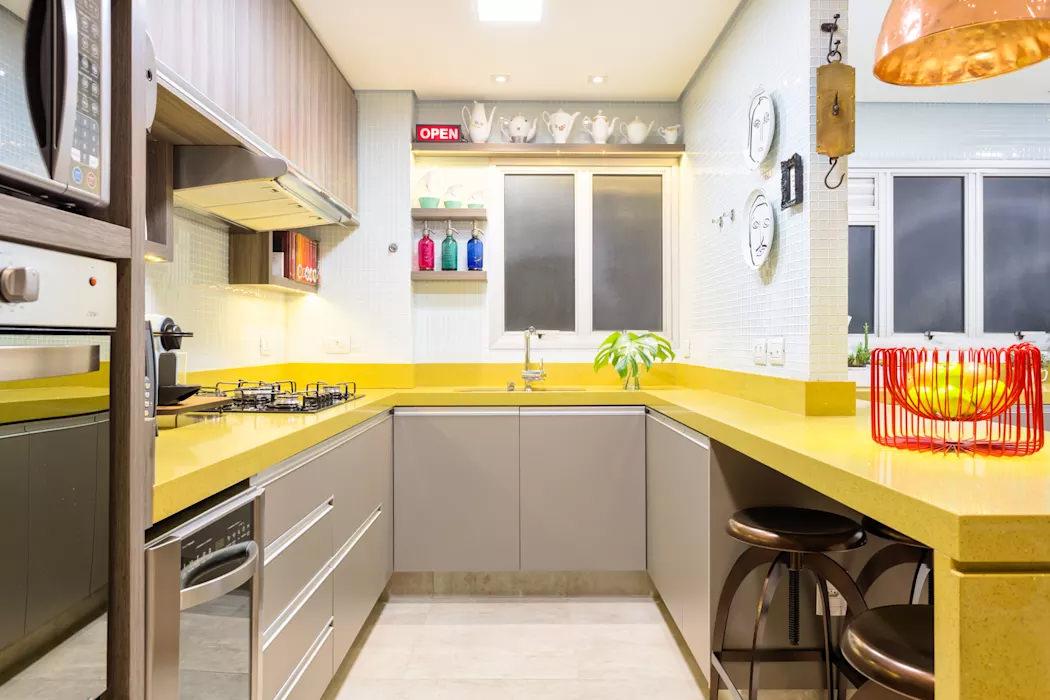 Cucine Moderne In Poco Spazio.50 Idee Cucine Piccole Moderne Con Isola Ad U Open