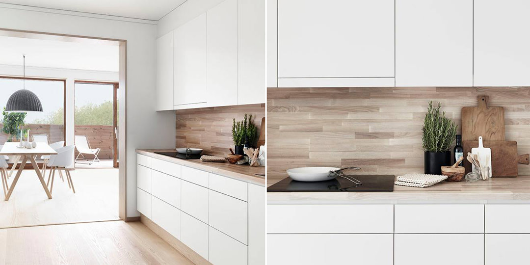 Cucina Bianca Moderna Con Tavolo Antico.100 Idee Cucine Moderne In Legno Bianche Nere Colorate Idee