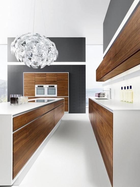 Cucine Moderne Rovere Moro.100 Idee Cucine Moderne In Legno Bianche Nere Colorate