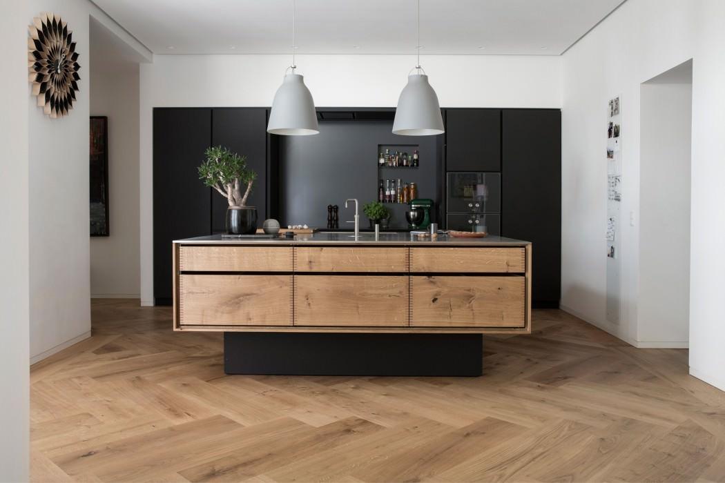 Mobili Cucina Legno Massello : Idee cucine moderne in legno u bianche nere colorate u idee
